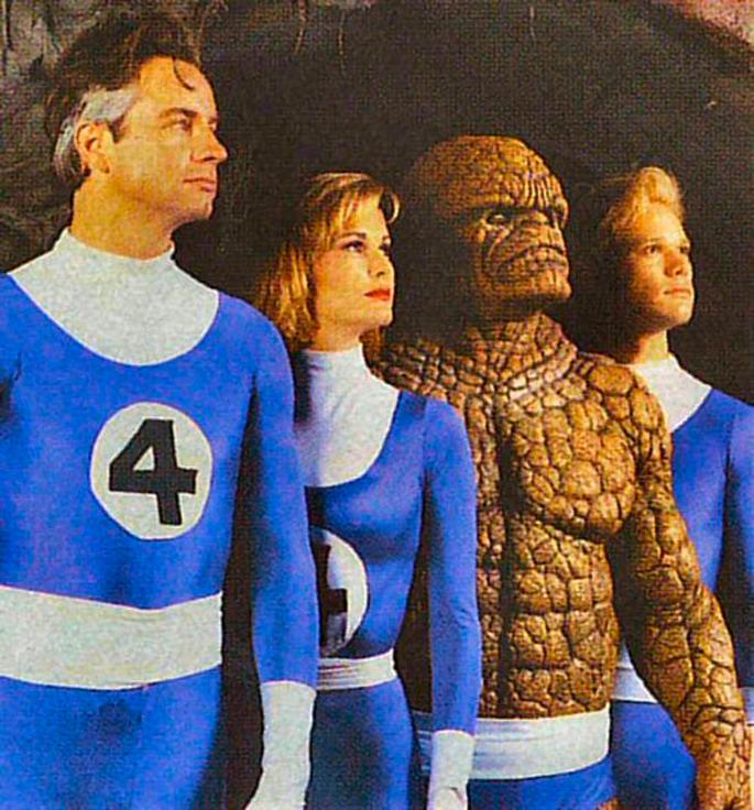 Cuatro Fantásticos de Roger Corman