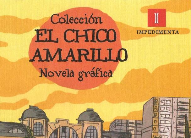 Impedimenta Novela grafica Cover