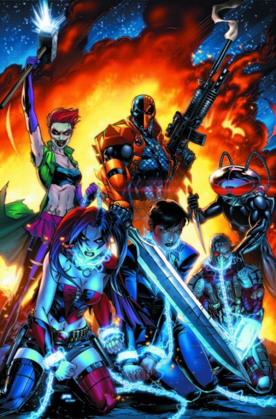 Suicide Squad, por Jeremy Roberts