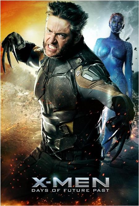 X-Men Dias del futuro pasados cartel 9