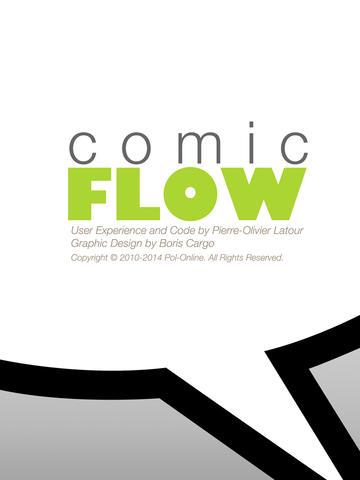logo comic flow