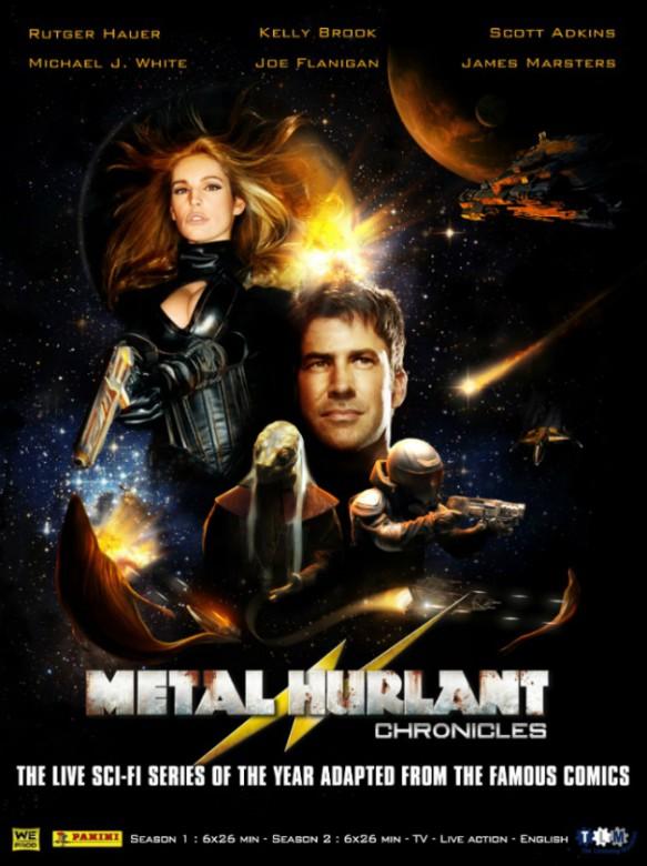 póster metal hurlant chronicles