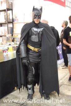 Cosplayers Batman Salón Cómic Barcelona