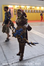 Cosplayers Elfa Salón Cómic Barcelona