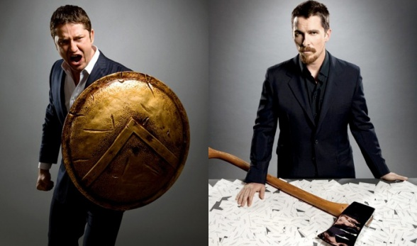 Gerard Butler Christian Bale