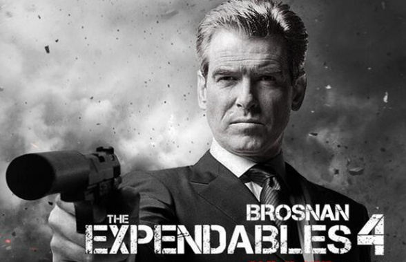 Pierce Brosnan Expendables 4