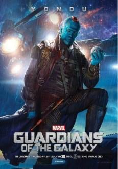 póster Yondu Guardianes de la Galaxia