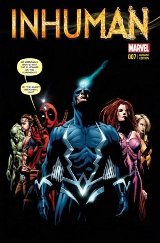 Inhuman 7 Deadpool