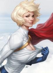 Las impresionantes chicas del mundo del cómic de Artgerm
