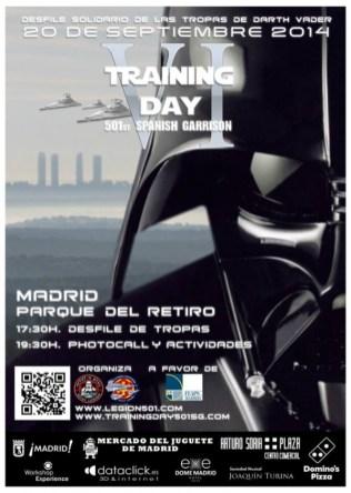 Cartel oficial Training Day VI