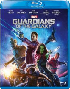 Guardianes de la galaxia Blu-ray