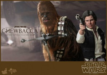 Hot Toys Chewbacca y Han Solo