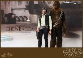 Hot Toys Han Solo y Chewbacca