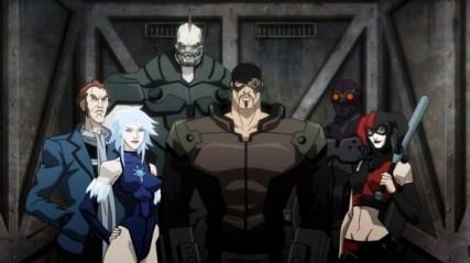 Capitán Boomerang (izquierda) en 'Asalto en Arkham'