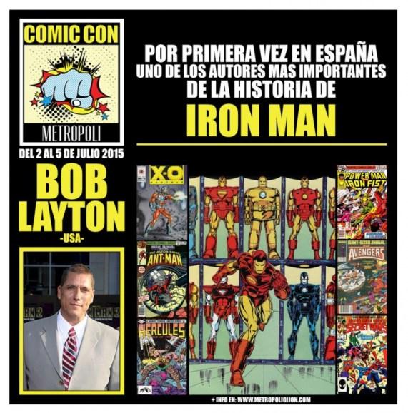 Metrópoli Comic Con - Bob Layton