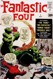 14. FANTASTIC FOUR (1961) #1
