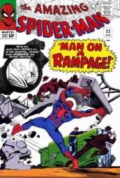 35. AMAZING SPIDER-MAN (1963) #31-33.