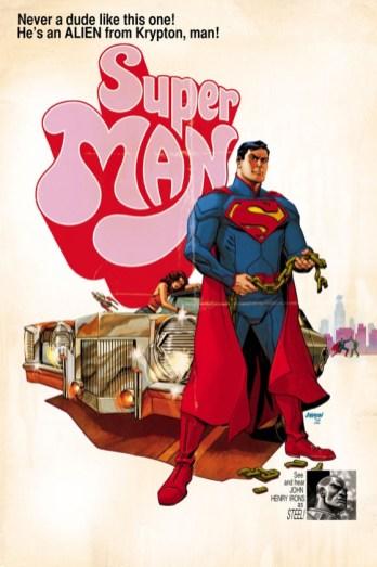 Portada alternativa Superman