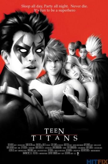 Portada alternativa Teen Titans