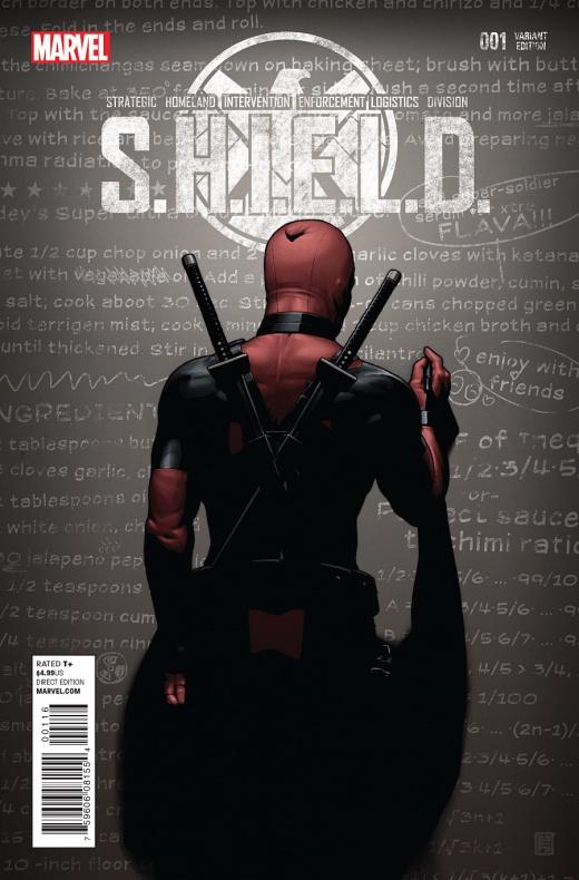 Waid y Pacheco traen Agentes de S.H.I.E.L.D. a la viñeta 01