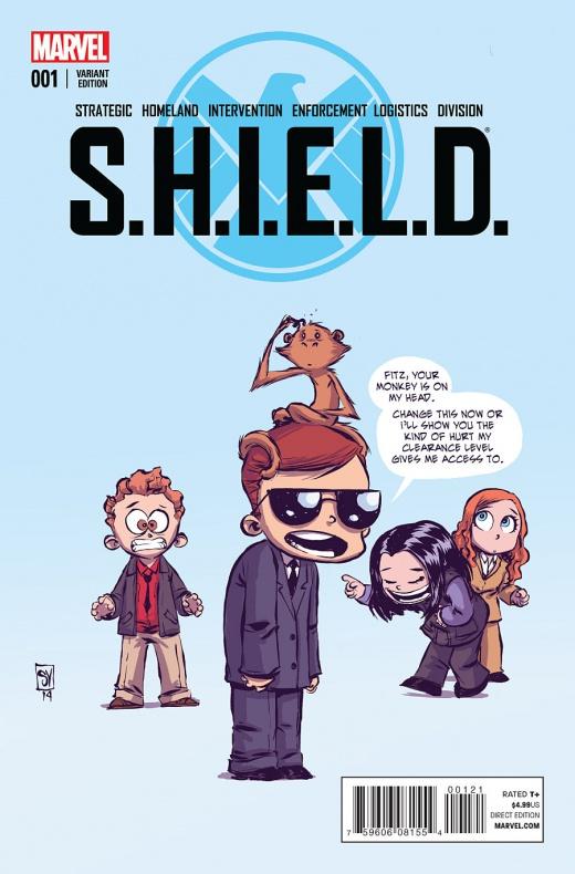 Waid y Pacheco traen Agentes de S.H.I.E.L.D. a la viñeta 04
