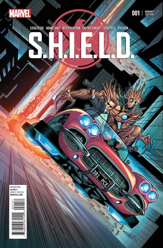 Waid y Pacheco traen Agentes de S.H.I.E.L.D. a la viñeta 07
