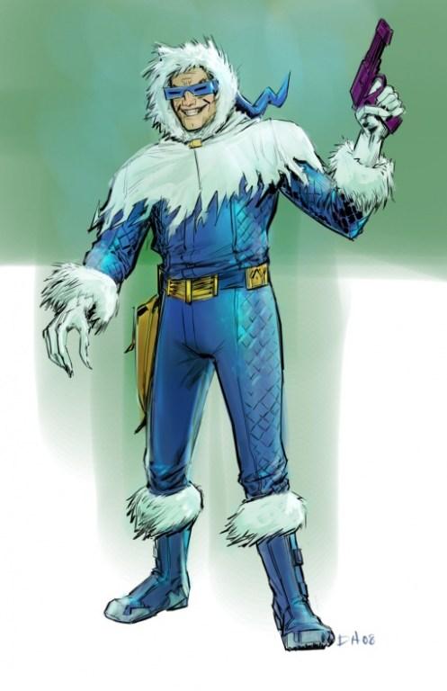 Captain Cold - Justice League videogame Double Helix