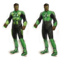 Green Lantern -Justice League videogame Double Helix