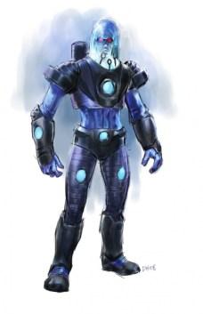 Mr Freeze - Justice League videogame Double Helix