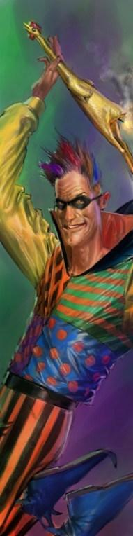 Trickster - Justice League videogame Double Helix