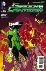 Linterna Verde portada 3