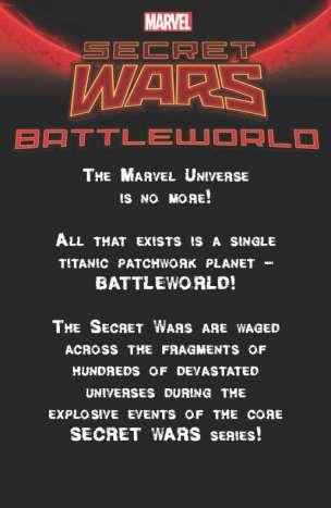 Teaser de Battleworld