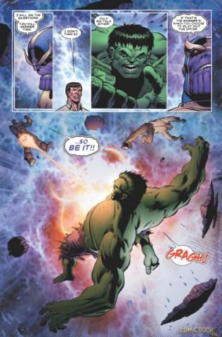 Thanos vs Hulk 2