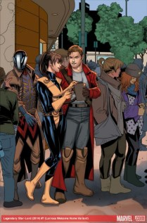 Welcome Home variant cover 06 - Legendary Star-Lord 07