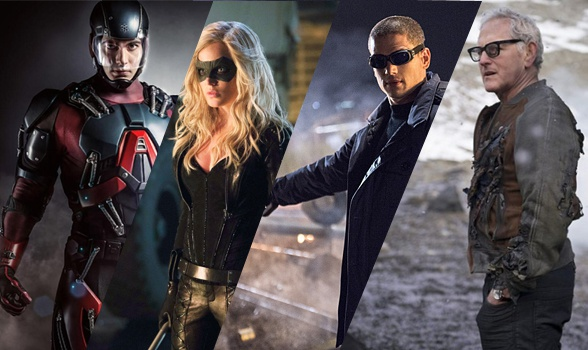 Arrow - The Flash spin off (Brandon Routh, Caity Lotz, Wentworth Miller, Victor Garber)