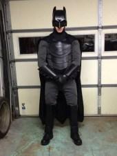 Traje de Batman hecho por fan 12