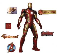 Promo FatHead Iron Man