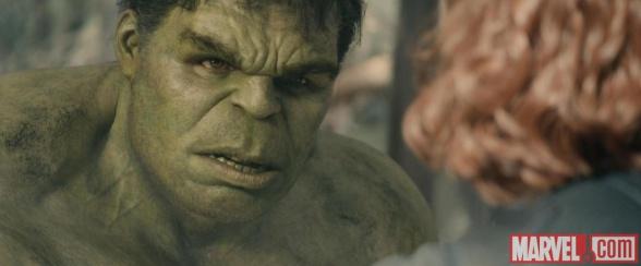 Hulk frente a la Viuda Negra
