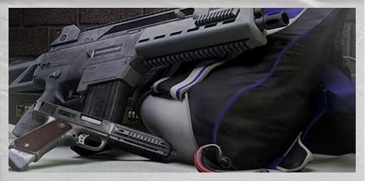 Una muestra del equipamiento