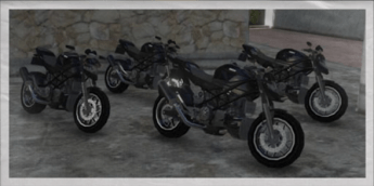 Las motocicletas siempre serán una buena opción de huída