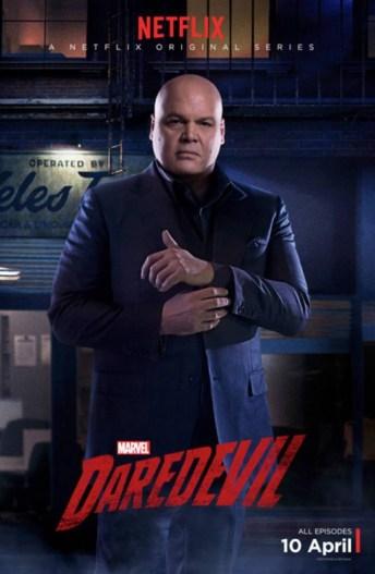 Daredevil - Wilson Fisk poster