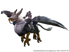 Grifo Volador de FF XIV: Heavensward