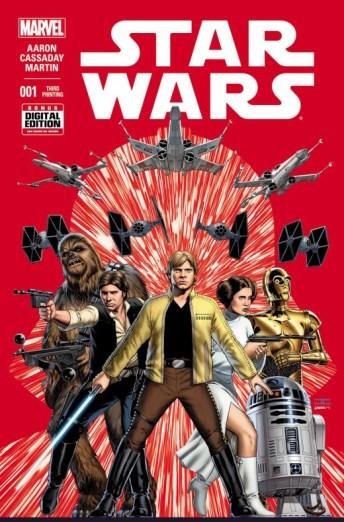 Portada Star Wars tercera impresión