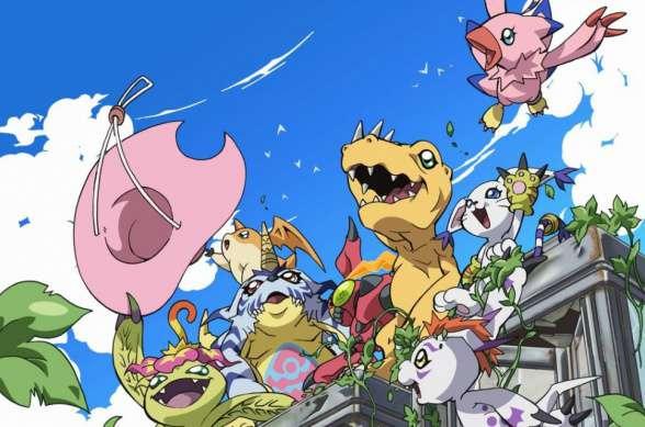 Digimon adventure Tri digimon grupo