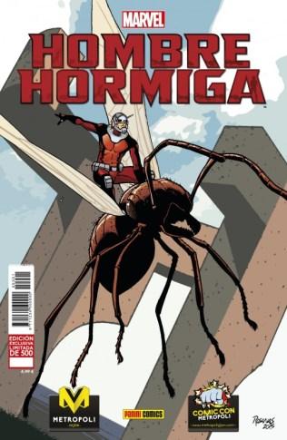 Hombre Hormiga Metrópoli Comic Con