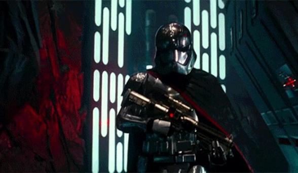 Star Wars VII - Capitán Phasma