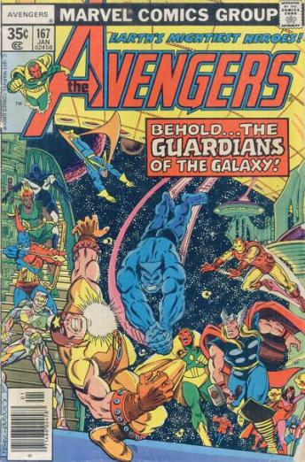 The Avengers #167