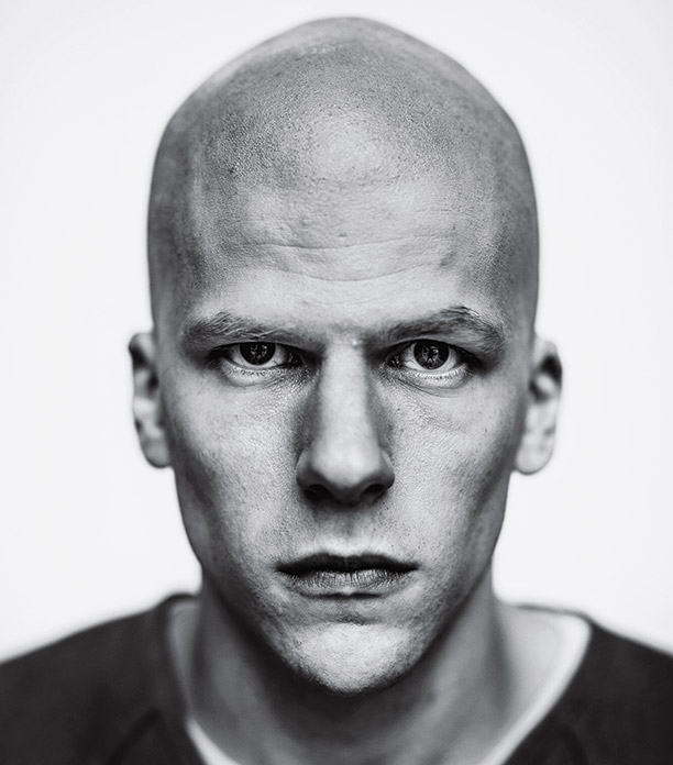 Jesse Eisenberg como Lex Luthor