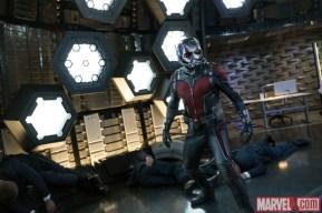 Ant-Man en los laboratorios Pym