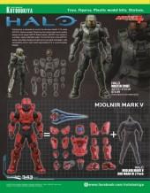 Catálogo de figuras y merchandising de Kotobukiya para la San Diego Comic-Con